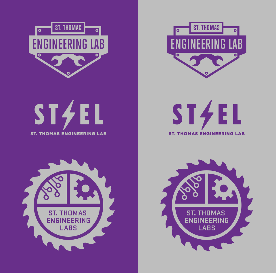 St Thomas Engineering Labs Logos
