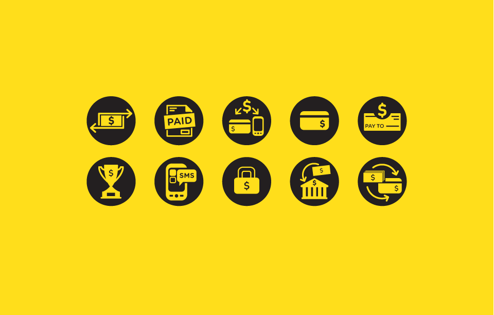 Western Union Icons